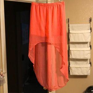 Hot Pink Express skirt